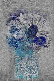 Still Life of Cosmos Flowers